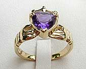 Scottish claddagh ring