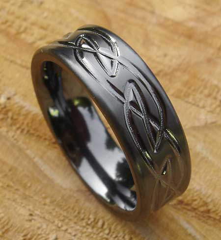 Size Z+1 Mens Celtic Ring