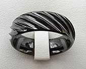Black Gothic designer ring
