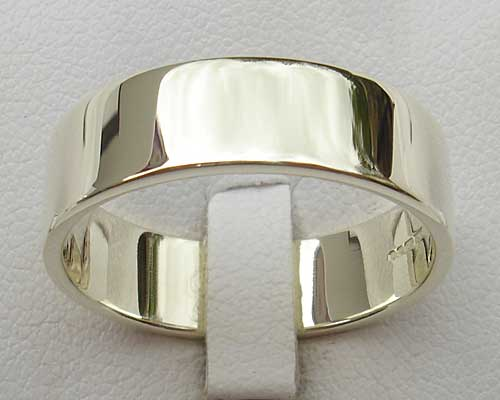 White Gold His Or Hers Wedding Ring