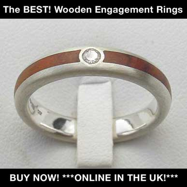 british wooden engagement rings