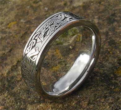 Celtic animals ring