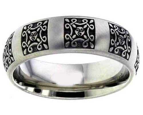 Celtic Pagan Titanium Ring Love2have In The Uk