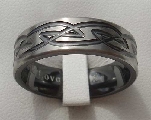 Celtic style ring for men love2have in the uk for Celtic wedding rings for men