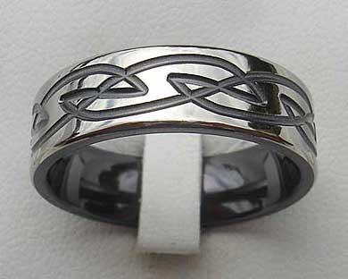 Celtic men's ring