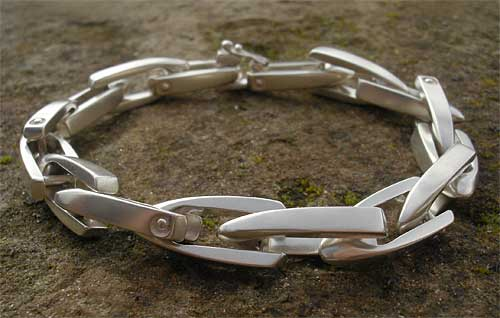 Women s Chunky Silver Chain Bracelet   LOVE2HAVE in the UK! 25c7c1168