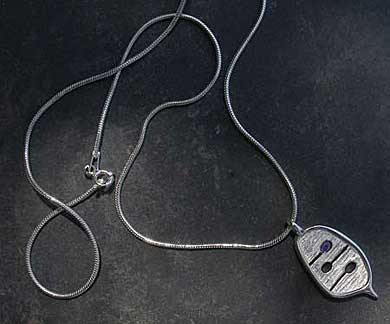 Contemporary Celtic necklace