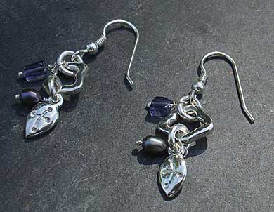Handmade Celtic earrings