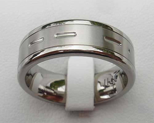 Customised Morse code ring