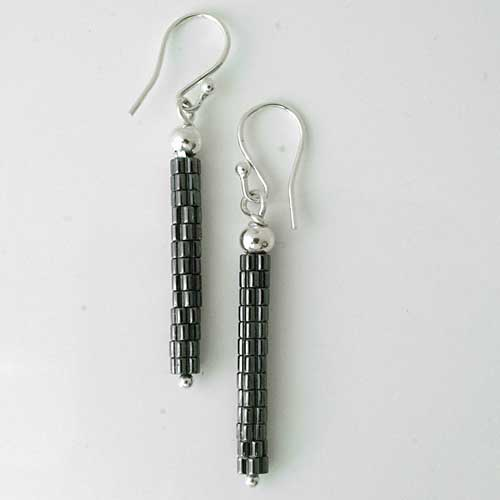 Designer Beaded Drop Earrings