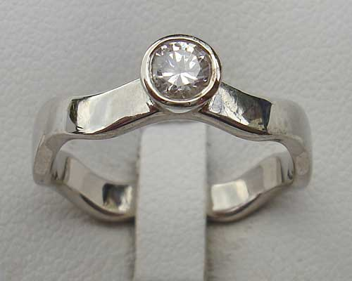 Designer Silver Engagement Ring Love2have In The Uk