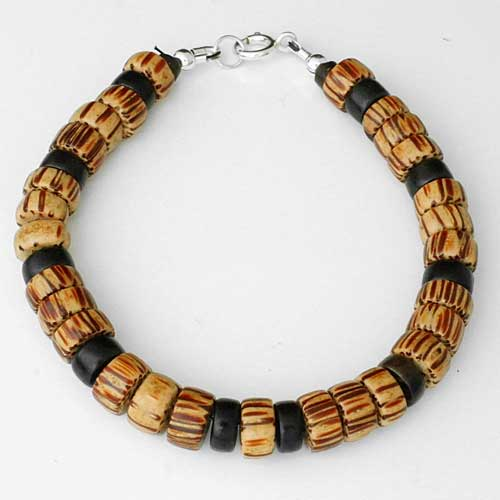Designer Wooden Beaded Bracelet
