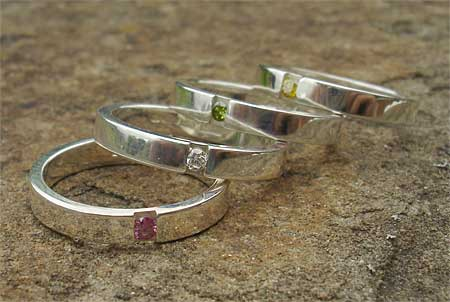 Silver engagement rings uk