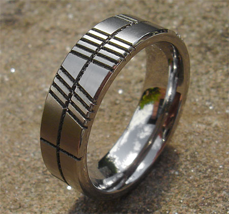 rings gold wedding white wed product mens design ring flat band ogham claddagh
