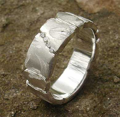 Handmade Silver Designer Diamond Ring Love2have In The Uk