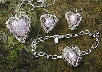 Heart shape jewellery
