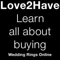 learn about buying wedding rings online
