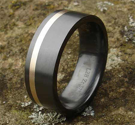 Mens alternative wedding ring
