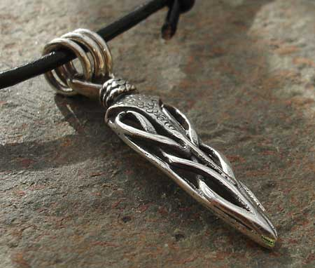 Mens celtic dagger necklace love2have in the uk mens celtic dagger necklace aloadofball Image collections