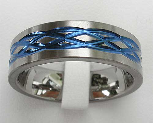 Men's Celtic knot ring