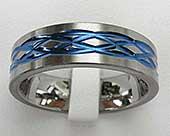 Mens Celtic knot ring