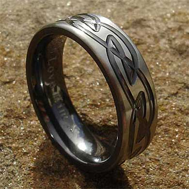 Men's Celtic ring