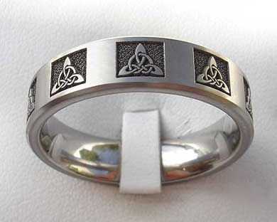 CELTIC TITANIUM RINGS Online LOVE2HAVE in the UK
