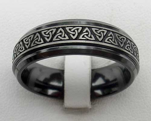 ring irish white celtic gold avoca fado with knots wedding rings knot diamond