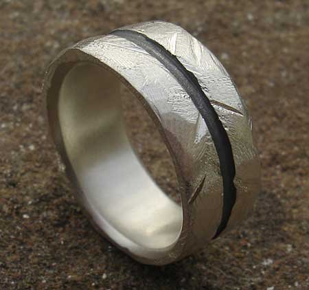mens chunky sterling silver ring in the uk