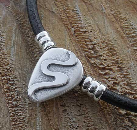 Mens handmade celtic necklace love2have in the uk mens contemporary celtic necklace aloadofball Image collections