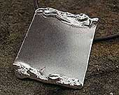 Men's sterling silver pendant