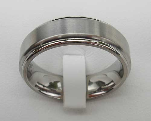 Titanium Designer Wedding Ring