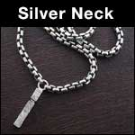 Men's Silver Necklaces