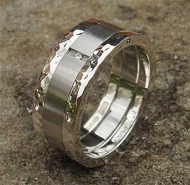 Men s stainless steel diamond wedding ring Men s stainless steel wedding  ring 1649c4195f36