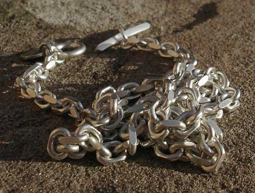 Men's sterling silver chain