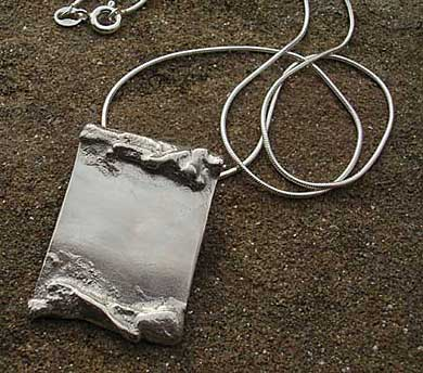 Sterling Silver Pendant For Men