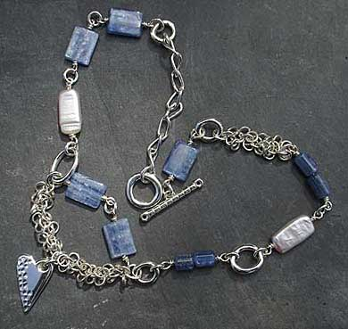 Modern Celtic necklace