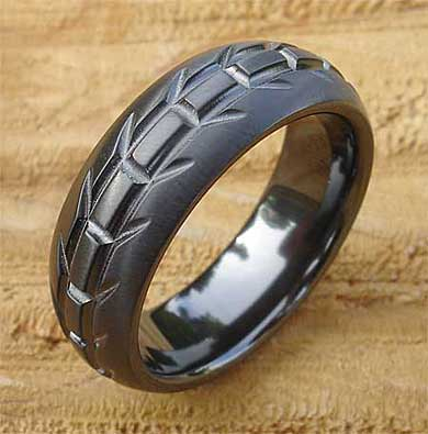 Bikers Tyre Tread Ring LOVE2HAVE In The UK