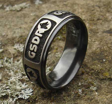 Personalised custom ring