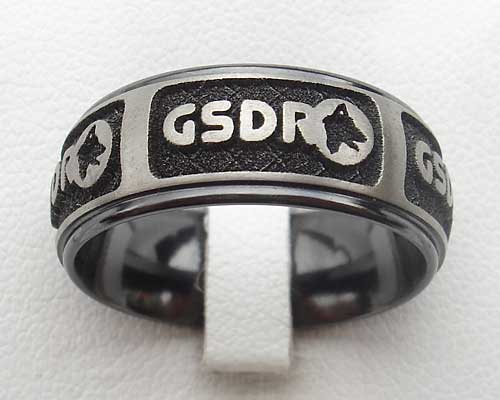 Personalised logo ring