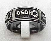 Personalised custom ring for men