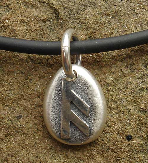 Personalised Runic necklace