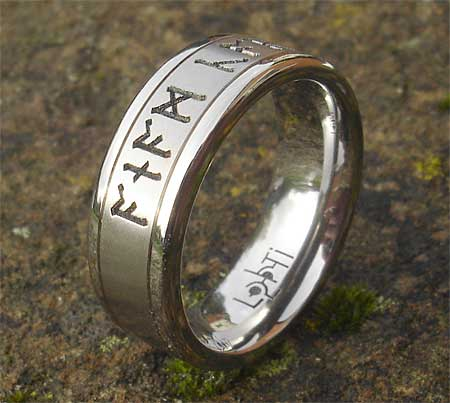 Personalised Runic ring