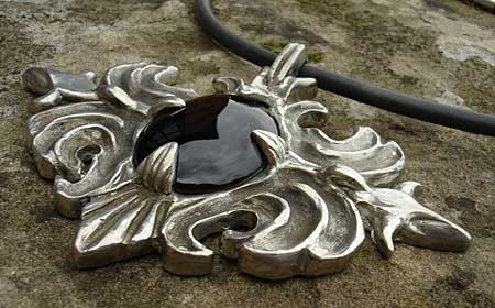 Pewter Gothic necklace