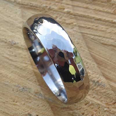 Size R Titanium Wedding Ring