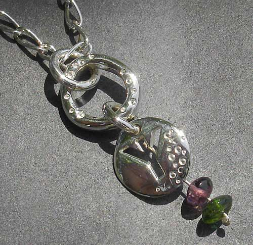 Silver Rune Necklace For Women