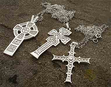 Scottish Celtic necklaces