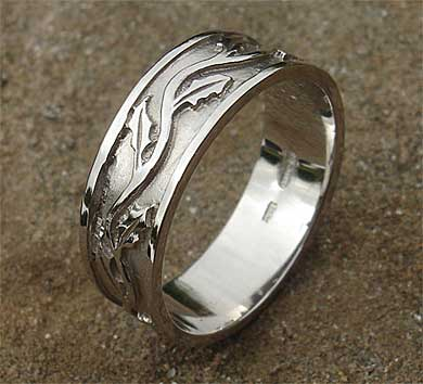 Scottish Thistle Wedding Ring ONLINE In The UK