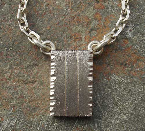 silver designer pendant for men