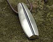 Designer silver pendant for men